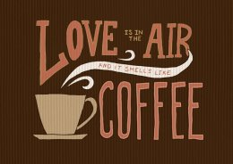 Print Love is coffee