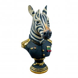 Zebra i armé uniform
