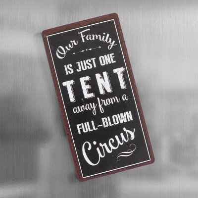 Magnet family circus tent