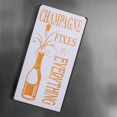 Magnet: Champagne fixes everything